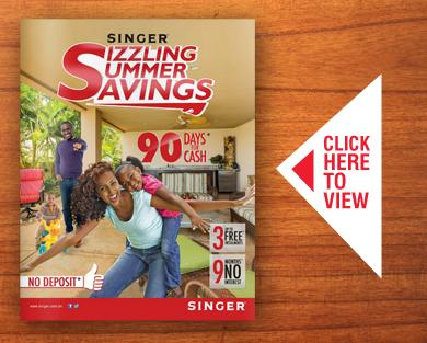 Singer Sizzling Summer Sales